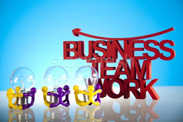 Business team gemeenschap business kantoor onderwijs groep Stockfoto © JanPietruszka