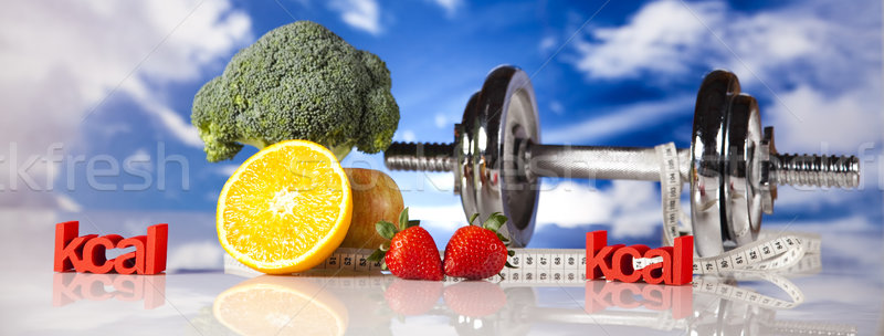 Sport diet, Calorie Stock photo © JanPietruszka
