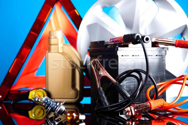 Auto levendig moto licht achtergrond Stockfoto © JanPietruszka
