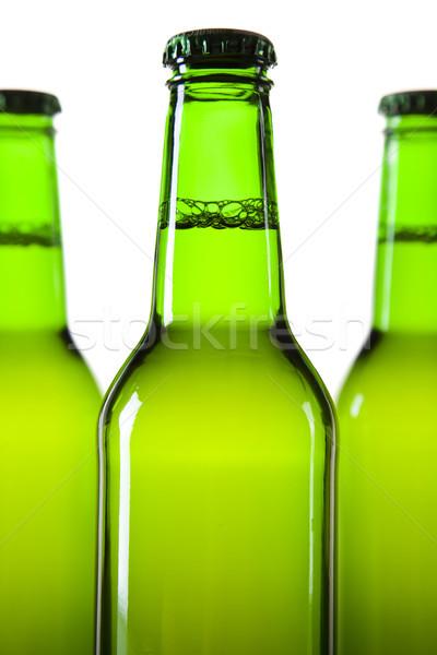 Martwa natura piwa jasne wibrujący alkoholu strony Zdjęcia stock © JanPietruszka