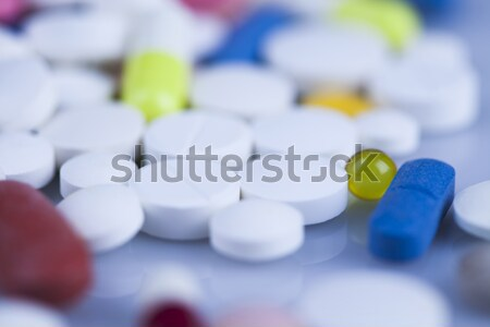 Stock photo: Pharmacology, colorful bright medicine concept