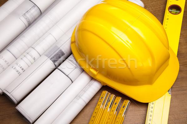 Stok fotoğraf: Inşaat · planları · mimari · sanat · bilim · binalar
