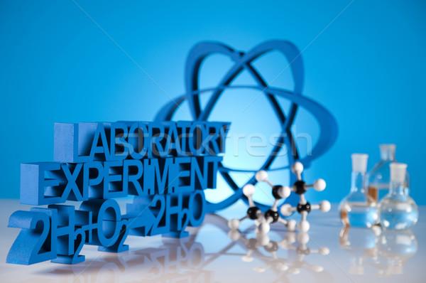 Сток-фото: лаборатория · медицина · науки · бутылку · лаборатория · химии