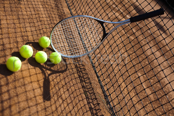 Tennis Ball Stock photo © JanPietruszka