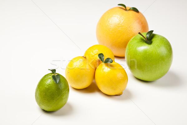 Mix di frutta luminoso colorato natura frutta salute Foto d'archivio © JanPietruszka