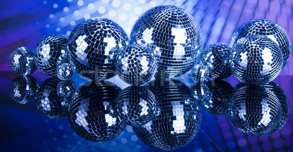 Disco geluid golven muziek nieuws Stockfoto © JanPietruszka