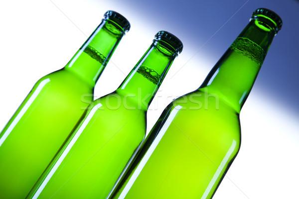 натюрморт пива ярко алкоголя вечеринка Сток-фото © JanPietruszka