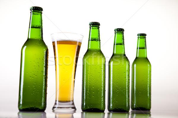 Birra luminoso vibrante alcol party tavola Foto d'archivio © JanPietruszka