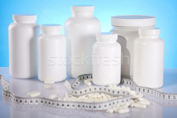 Body building, supplements  Stock photo © JanPietruszka