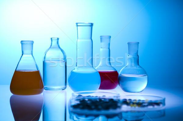 Kimyasal laboratuvar züccaciye yer bilimsel araştırma Stok fotoğraf © JanPietruszka