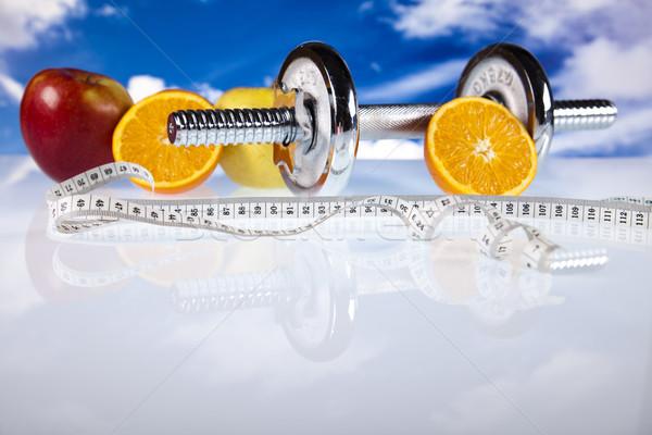 Alimentare misurazione fitness sport energia grasso Foto d'archivio © JanPietruszka