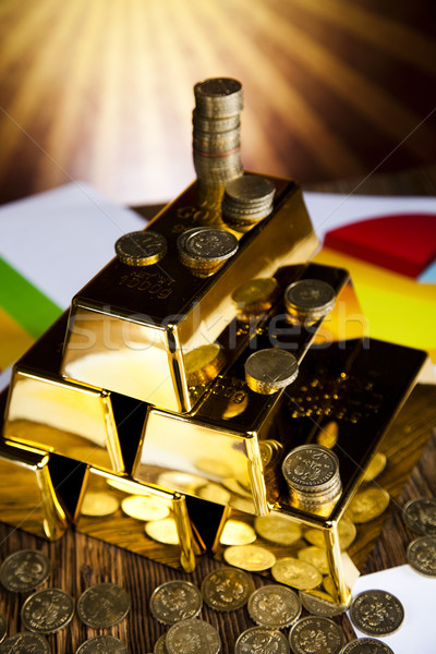 Gold bullion Stock photo © JanPietruszka