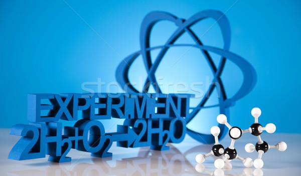 原子 分子 モデル 水 デザイン にログイン ストックフォト © JanPietruszka