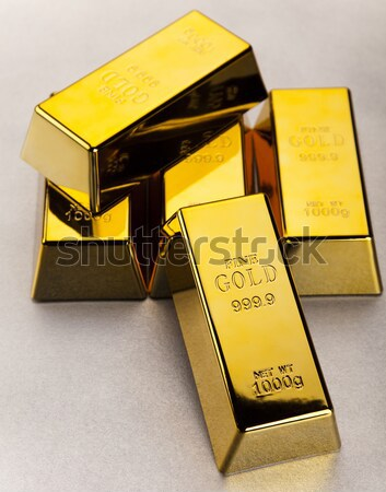 Gold and money, ambient financial concept Stock photo © JanPietruszka