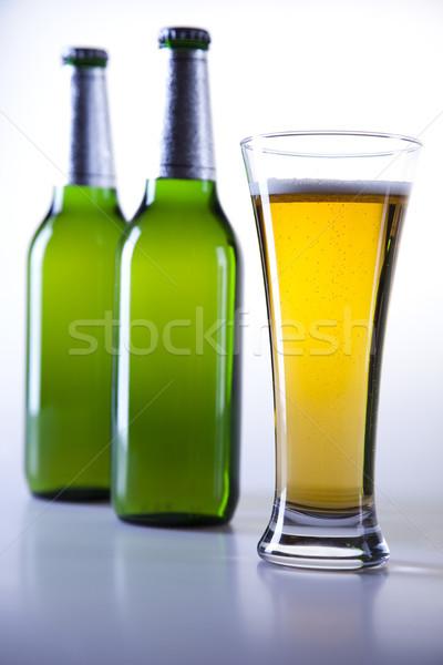 Maravilloso cerveza brillante vibrante alcohol mesa Foto stock © JanPietruszka