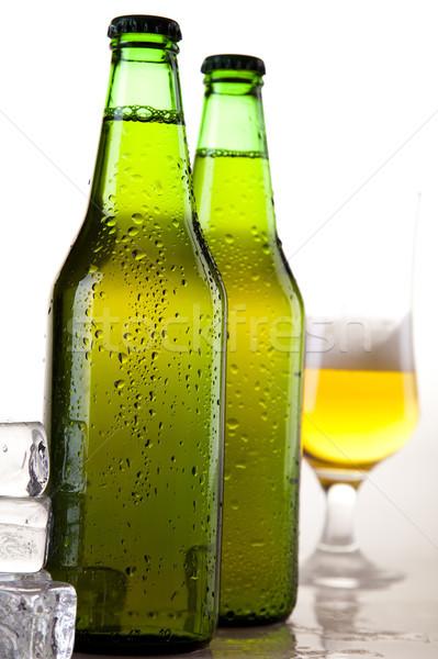 Photo stock: Still · life · bière · lumineuses · dynamique · alcool · fête
