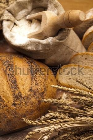 Pain traditionnel alimentaire fond Photo stock © JanPietruszka