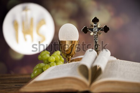Comunione luminoso cross Gesù chiesa Foto d'archivio © JanPietruszka