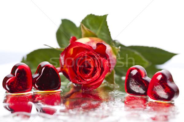 Valentine, romantic bright tone theme Stock photo © JanPietruszka