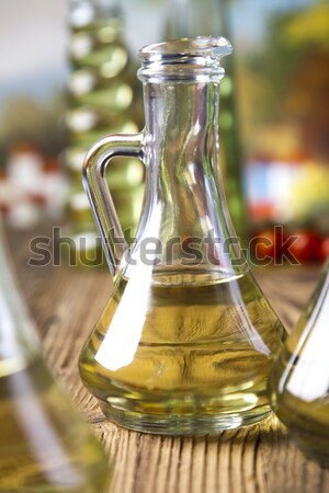 Extra Virgin Olive Oil, Mediterranean rural theme Stock photo © JanPietruszka