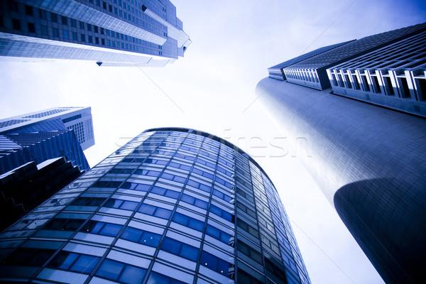 Singapore skyline finanziaria centro business città Foto d'archivio © JanPietruszka