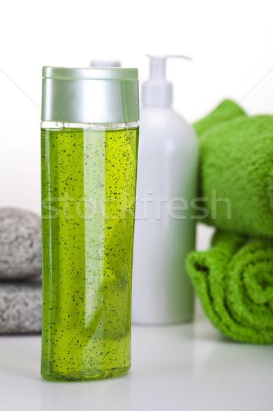 Spa vers organisch badkamer douche Stockfoto © JanPietruszka