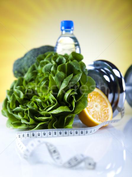 Fitness alimentaire régime alimentaire légumes soleil soleil Photo stock © JanPietruszka