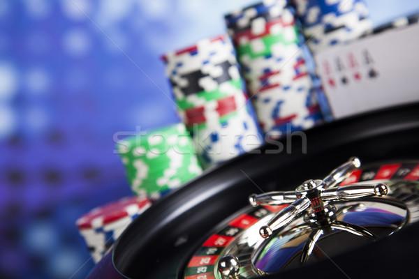 演奏 ルーレット カジノ 楽しい ストックフォト © JanPietruszka