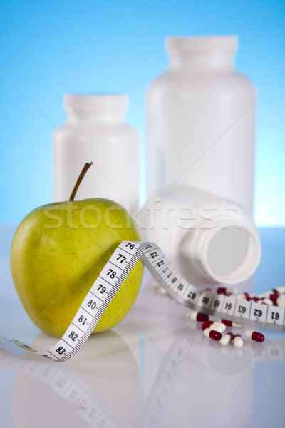 Body building, supplements  Stock photo © JanPietruszka