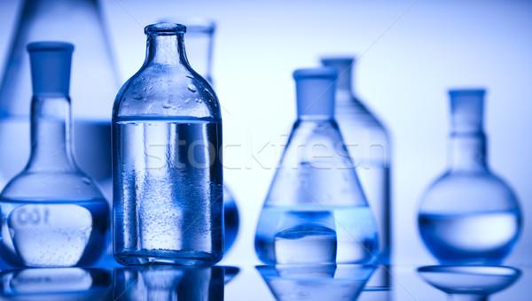 化学 室 ガラス製品 技術 健康 ストックフォト © JanPietruszka