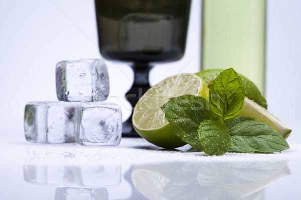 Fresh mojito drink Stock photo © JanPietruszka