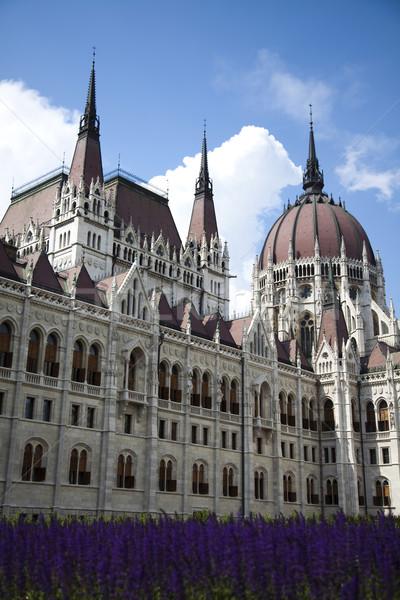Parliament building in Budapest, Hungary Stock photo © JanPietruszka