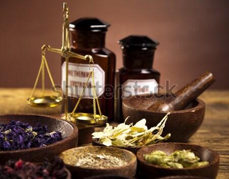 Phytothérapie naturelles coloré nature beauté médecine Photo stock © JanPietruszka