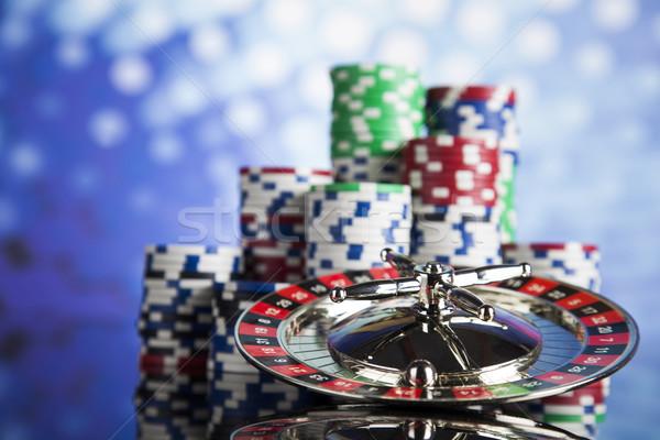 Roulette Tabelle Casino Spaß Stock foto © JanPietruszka