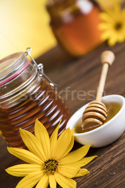Honey in jar  Stock photo © JanPietruszka