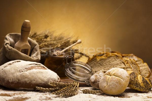 Traditional bread Stock photo © JanPietruszka