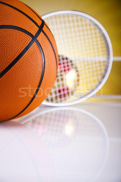 Sprzęt sportowy golf piłka nożna sportu tenis baseball Zdjęcia stock © JanPietruszka