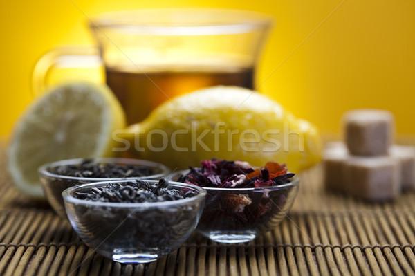 緑茶 カップ 明るい カラフル ガラス ストックフォト © JanPietruszka