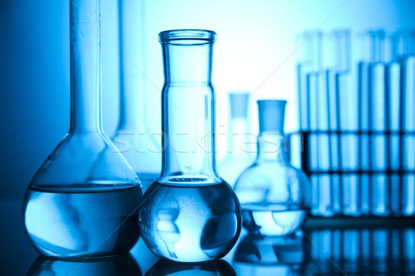 Laboratuvar züccaciye yer bilimsel araştırma çevre araştırma Stok fotoğraf © JanPietruszka