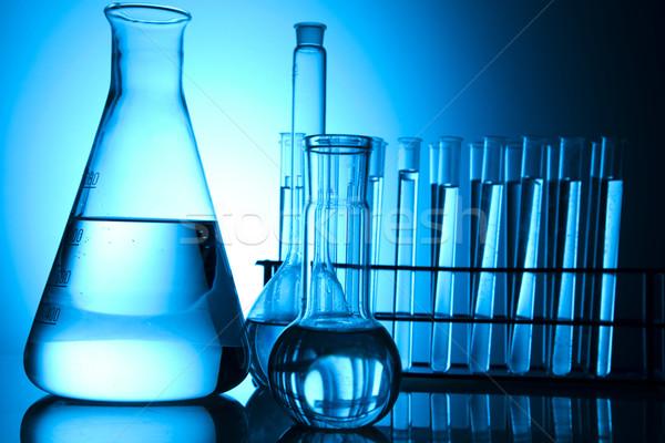 Chemical laboratory glassware equipment  Stock photo © JanPietruszka