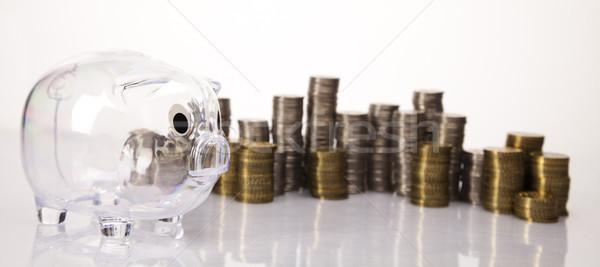 Stack of coins  Stock photo © JanPietruszka