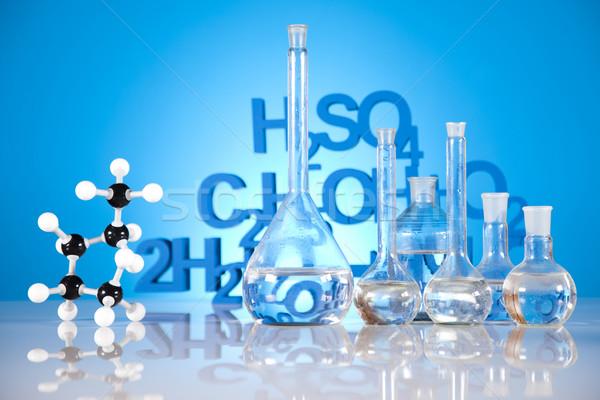 Stérile laboratoire verrerie médecine science bouteille Photo stock © JanPietruszka