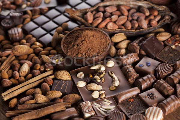 Foto stock: Chocolate · doce · comida · sobremesa · aromático