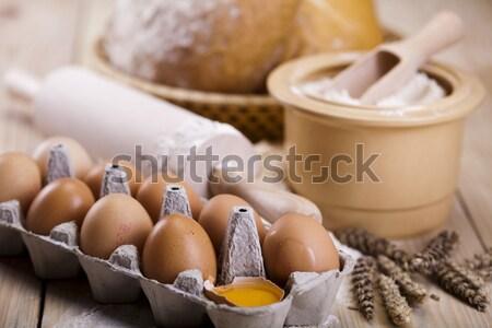 Kenyér válogatás sült egészség növény szendvics Stock fotó © JanPietruszka