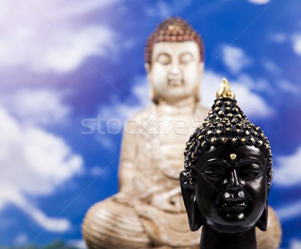 Buddha and sky background  Stock photo © JanPietruszka