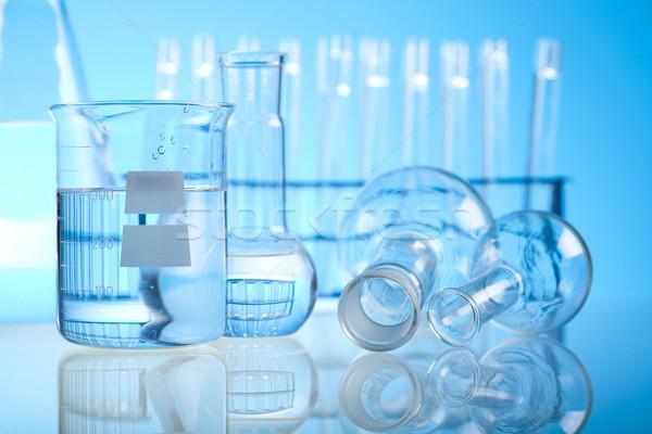 химии лаборатория изделия из стекла медицинской лаборатория химического Сток-фото © JanPietruszka