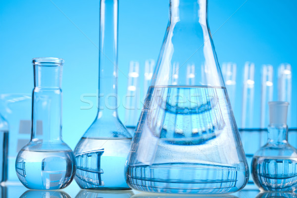 Sterile conditions, Laboratory glass Stock photo © JanPietruszka