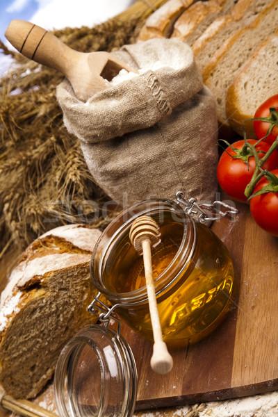 Backed goods, Bread Stock photo © JanPietruszka