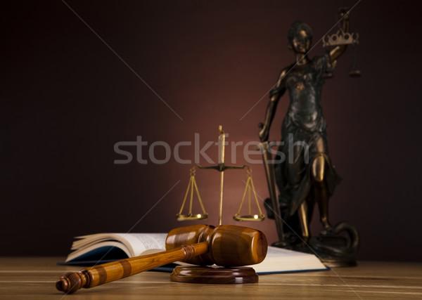 Lady of justice, Law Stock photo © JanPietruszka