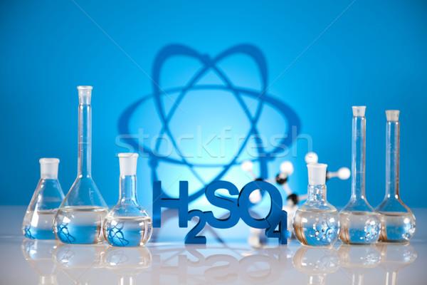 Research and experiments, Chemistry formula  Stock photo © JanPietruszka